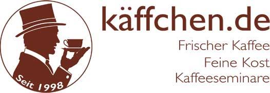 Kaffee online kaufen auf Kaeffchen.de Logo